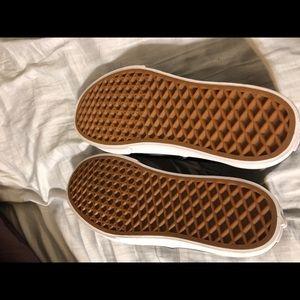 Vans Shoes - Black vans tennis shoes